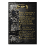 RANGER CREED POSTER Posters 2 24x36 Upper Tier Development