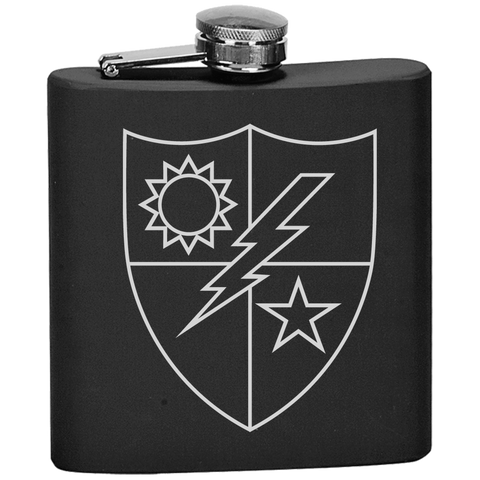 RANGER REGIMENT CREST FLASK Flask OS / Black Upper Tier Development