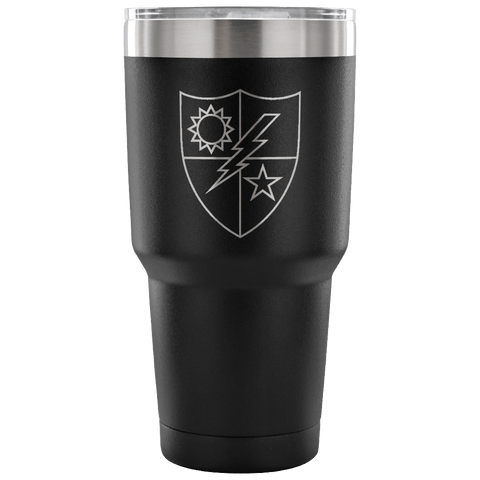 RANGER REGIMENT DUI TUMBLER Tumblers 30 Ounce Vacuum Tumbler - Black Upper Tier Development