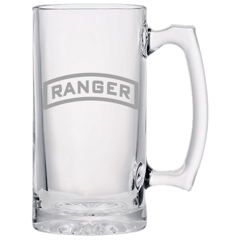 RANGER TAB BEER MUG Beer Mugs Laser Etched No Colored Art Upper Tier Development
