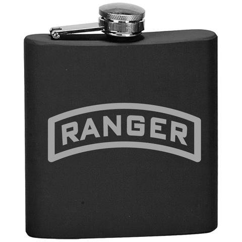 RANGER TAB FLASK Flask Laser Etched No Colored Art OS / Black Upper Tier Development