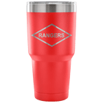 RANGERS 30 OUNCE TUMBLER Tumblers 30 Ounce Vacuum Tumbler - Red Upper Tier Development