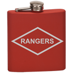 RANGERS FLASK Flask Laser Etched No Colored Art OS / True Red Upper Tier Development
