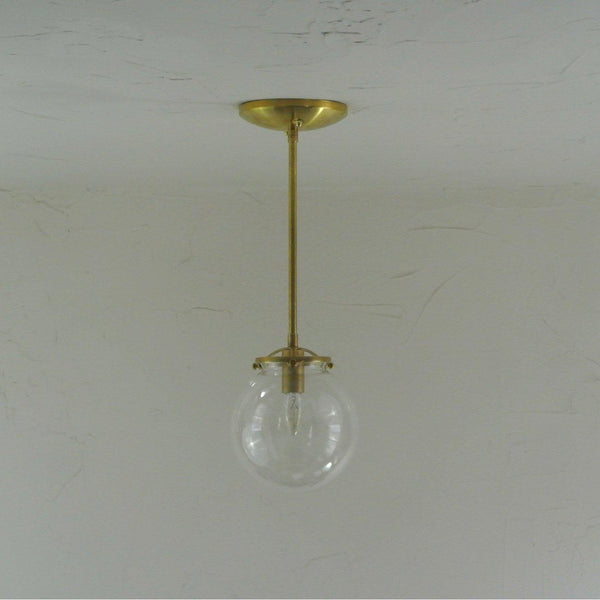 Petite Glass Globe Pendant Light - Pepe & Carols