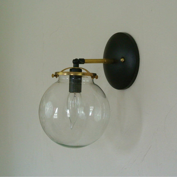 Two Tone Single Wall Sconce - Pepe & Carols