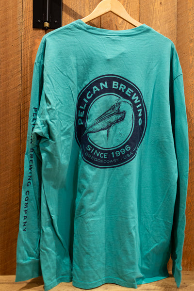 Vintage Teal Long Sleeve Tee - Unisex
