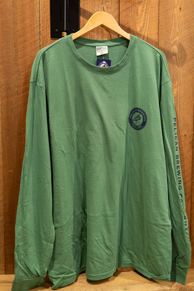 Vintage Safari Green Long Sleeve Tee - Unisex
