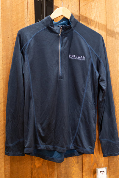 Vintage Blue Bamboo Storm Creek Quarter Zip - Unisex