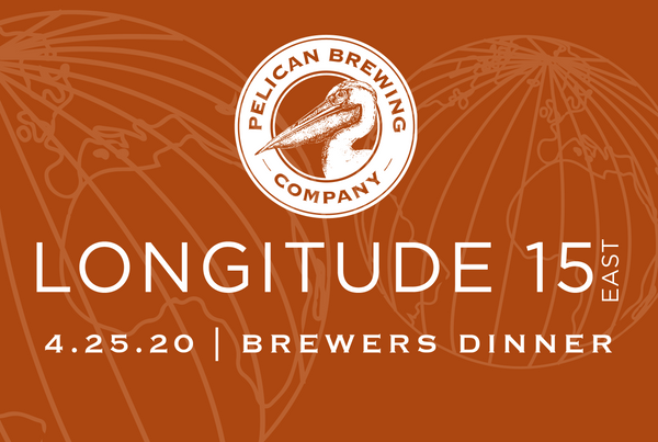 Longitude 15 East Brewers Dinner - 4.25.20 - CANCELLED