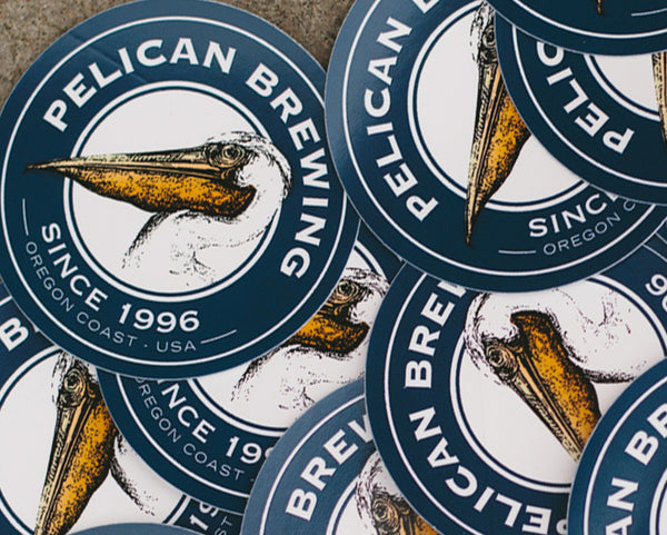 Pelican Logo Stickers