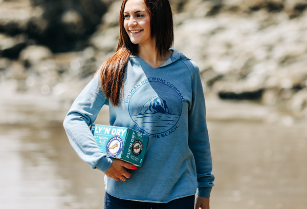 Wave Wash Haystack Sweatshirt - Women's