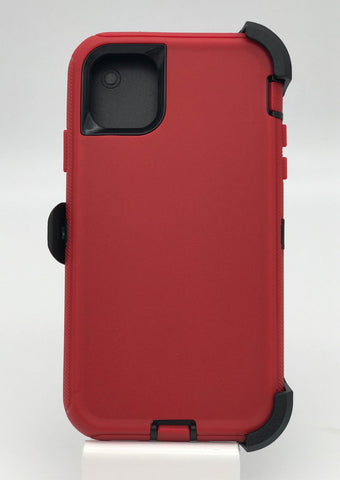 Defender Hard Shell Case w/ Belt Holster Clip for iPhone 11 Pro Max