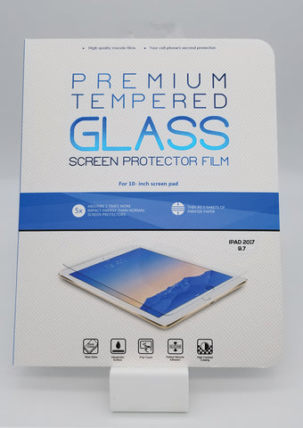 "iPad 2017/5th Gen 9.7"" Premium Tempered Glass"