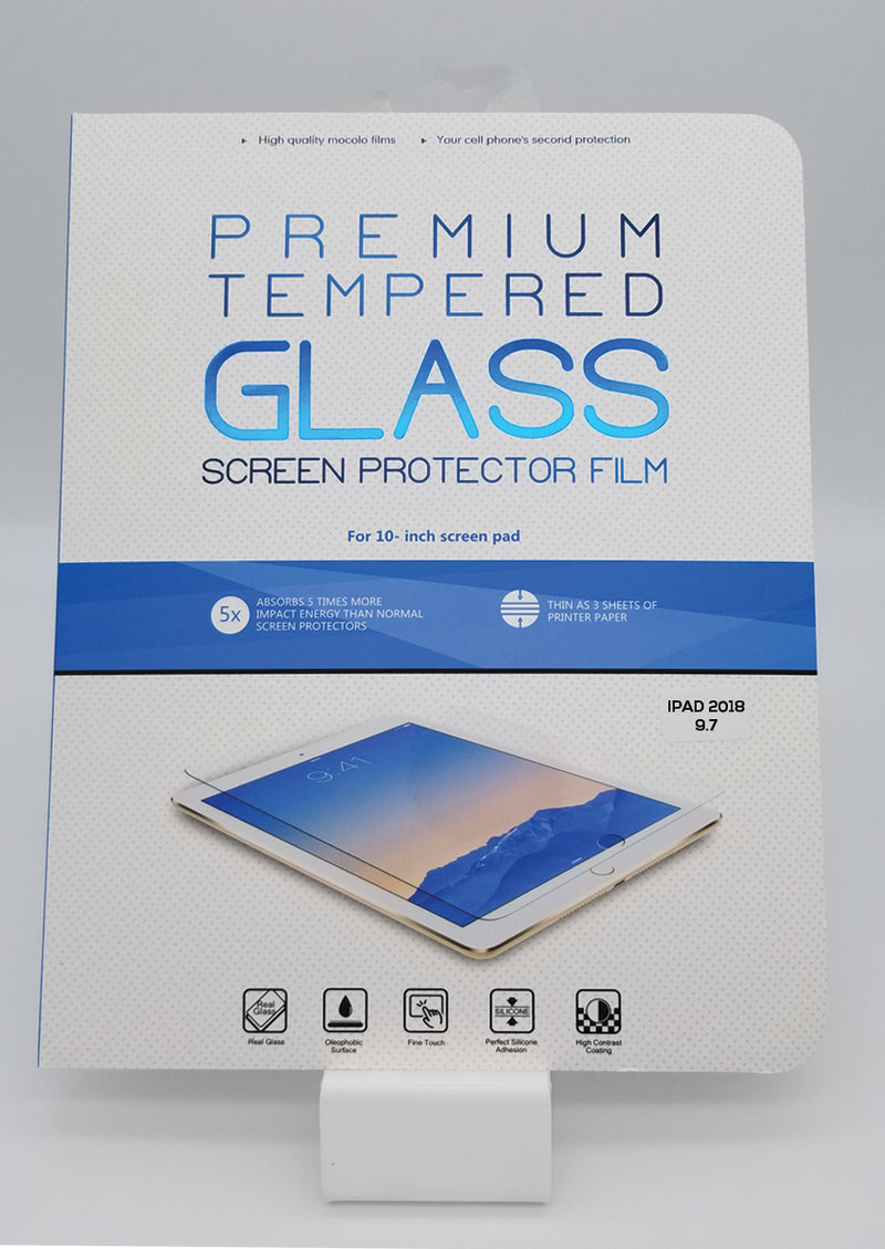 "iPad 2018/6th Gen 9.7"" Premium Tempered Glass"