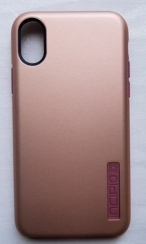 Incipio Dual-Layer Case for iPhone X/iPhone Xs - Rose Gold