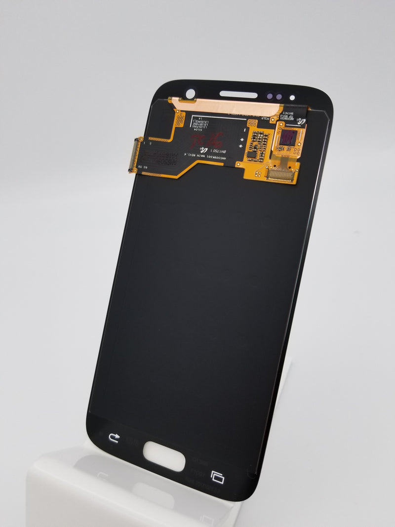 Samsung S7 LCD Replacement NO FRAME - White (Service Pack)