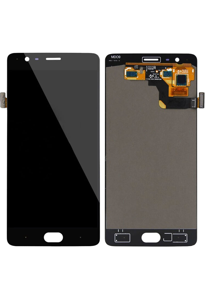 OnePlus 3T LCD Assembly NO FRAME - Black