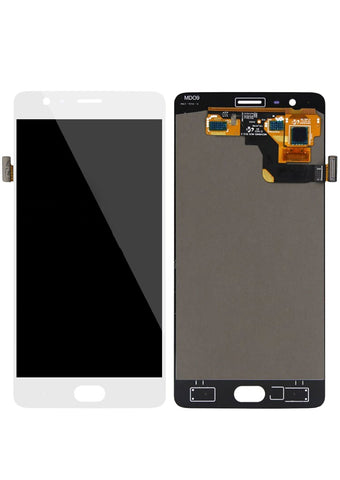OnePlus 3T LCD Assembly NO FRAME - White