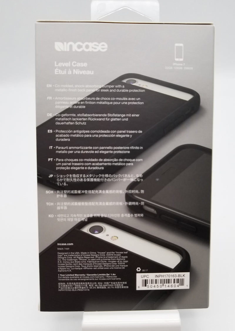 Incase Level 7/8/SE Case - Black