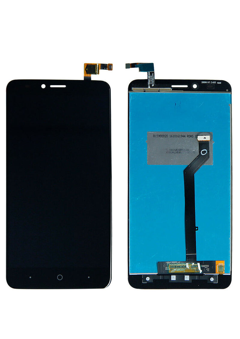 ZTE Blade X Max Z983 LCD Assembly NO FRAME - Black