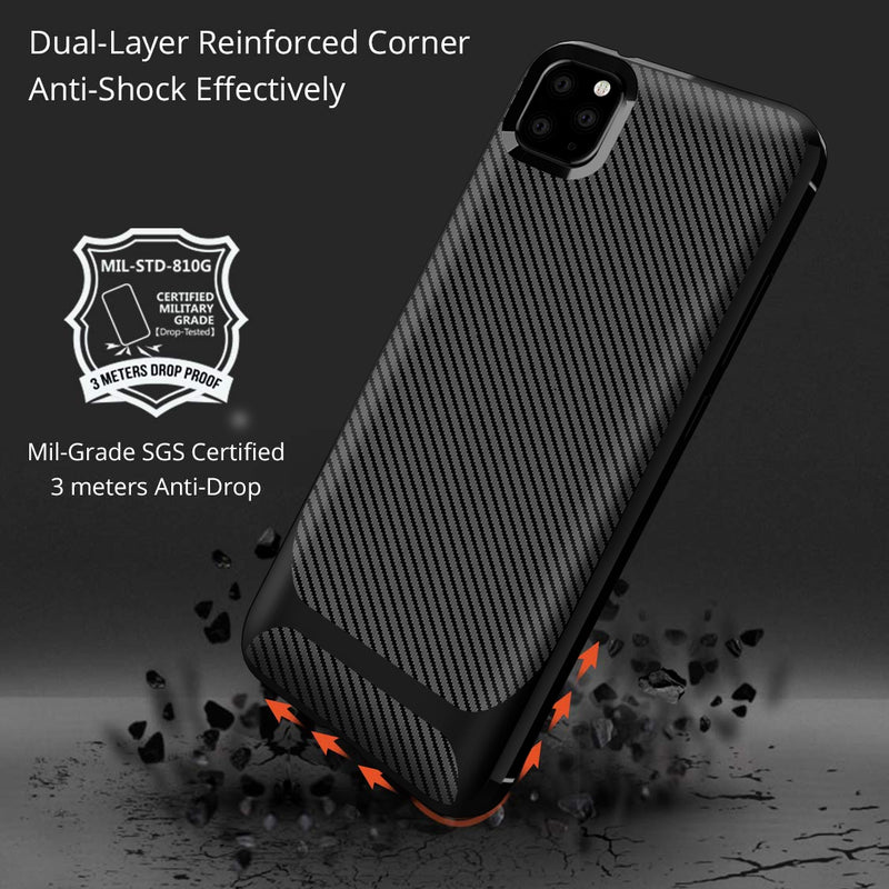 Carbon Shock Case for iPhone 12 Mini