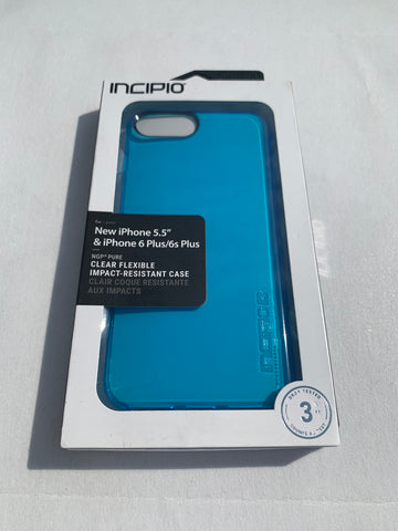 Incipio NGP Pure Case for iPhone 6 Plus/iPhone 6s Plus/iPhone 7 Plus/iPhone 8 Plus - Blue