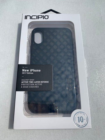Incipio DualPro Sport Case for iPhone X/iPhone Xs - Black