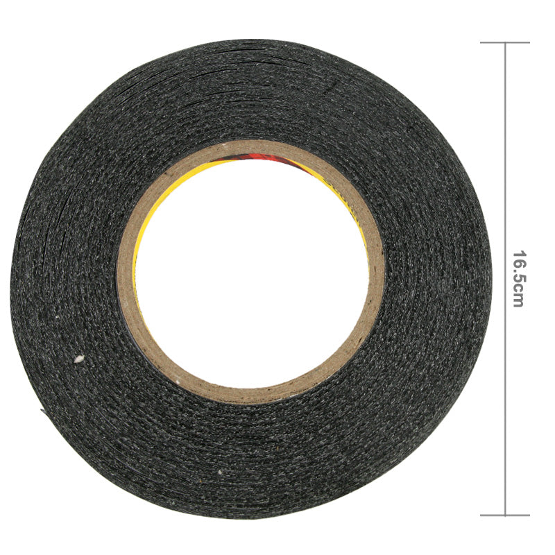 2mm Size 3M Double Sided Adhesive TESA Tape - Black