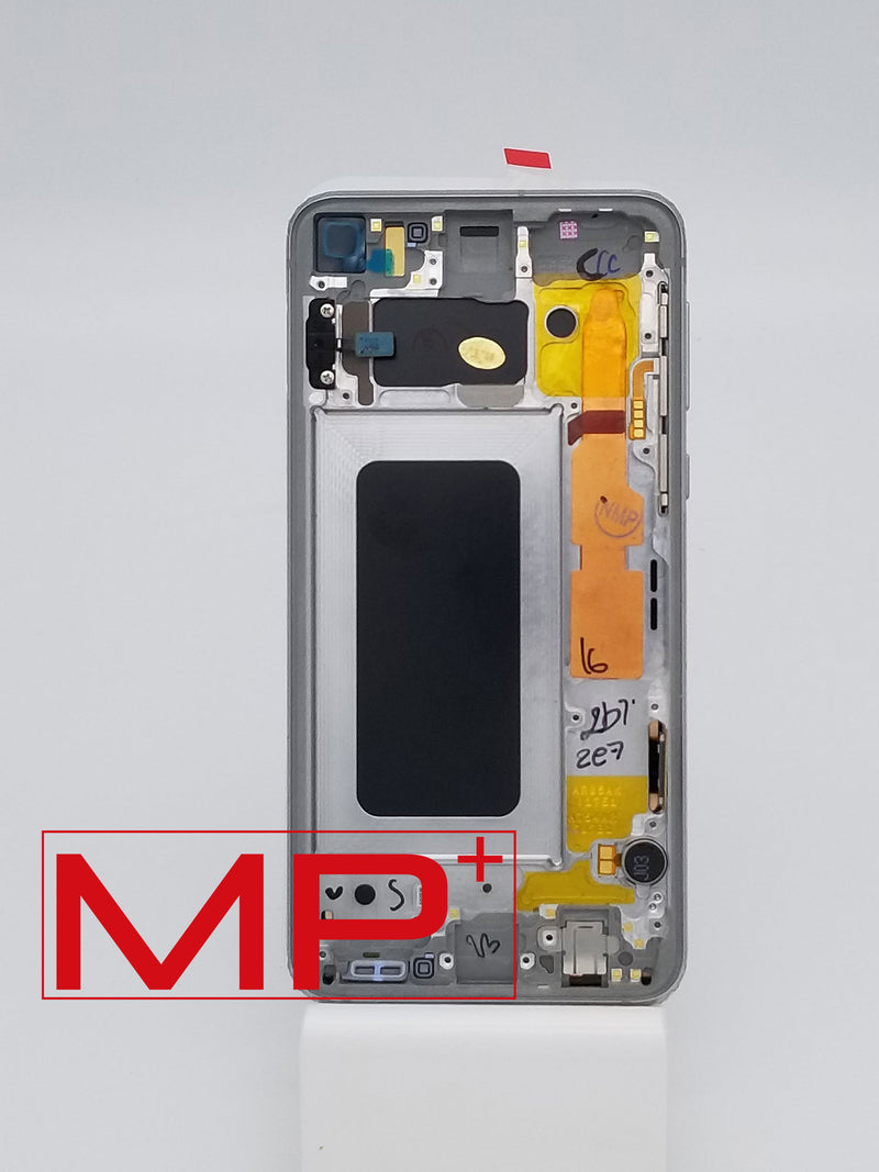 Samsung S10E Replacement LCD with Frame - Silver