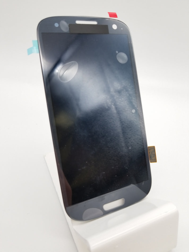 Samsung S3 LCD Assembly NO FRAME - Blue