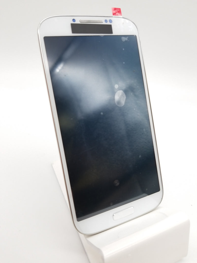 Samsung S4 LCD Assembly with Frame (i9500) - White