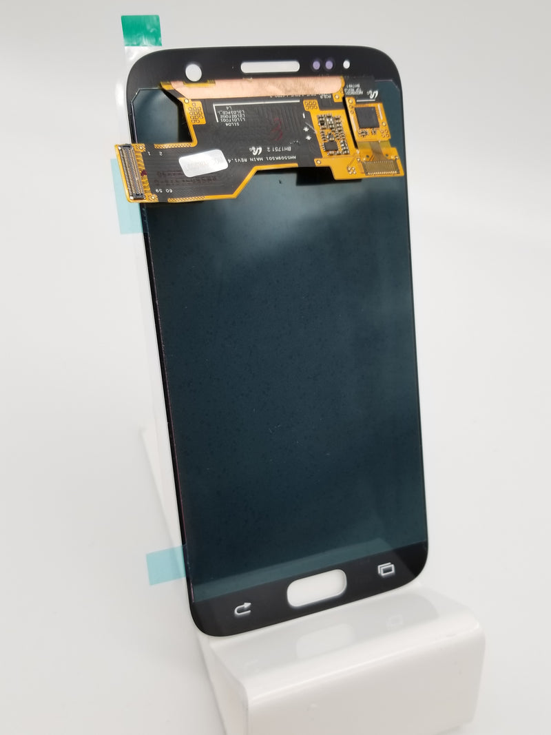 Samsung S7 LCD Assembly NO FRAME - White