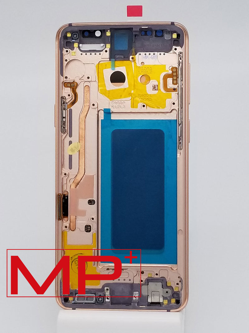 Samsung S9 Replacement LCD with Frame - Gold