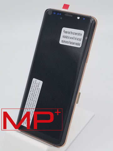 Samsung S9 Plus Replacement LCD with Frame - Gold