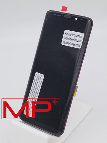 Samsung S9 Plus Replacement LCD with Frame - Purple