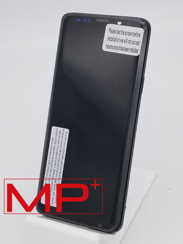 Samsung S9 Plus Replacement LCD with Frame - Silver
