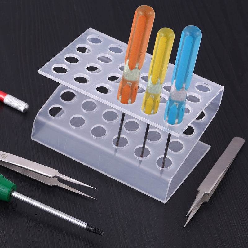 Z-Type Plastic Tool Kit Storage Rack