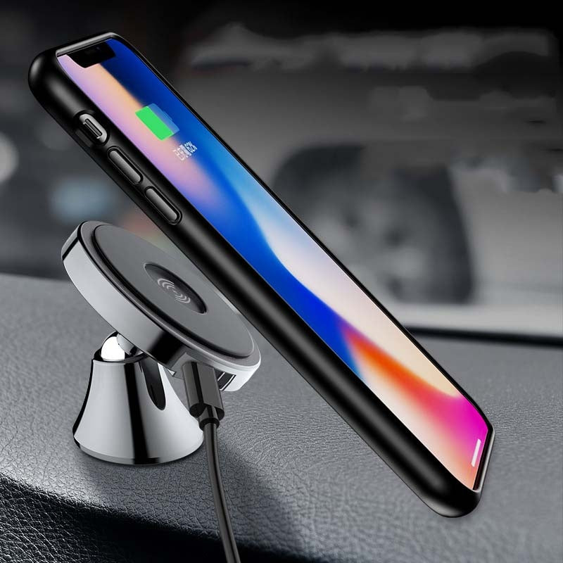 Sticky-Pad* Nano Wireless Charger Car Mount - Paste Style