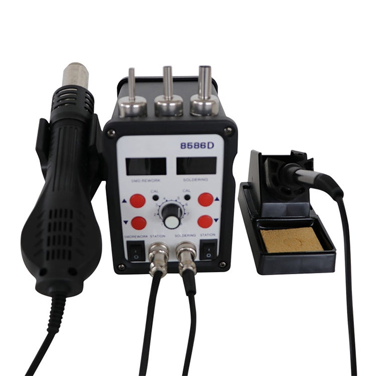 Kaisi 2in1 Double Display Heat Gun and Soldering Station (8586D)
