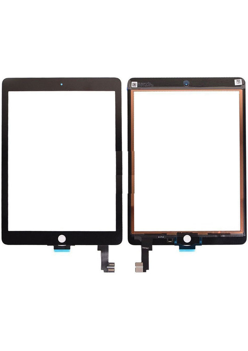 iPad Air 2 Glass Digitizer - Black (GLASS SEPARATION REQUIRED)