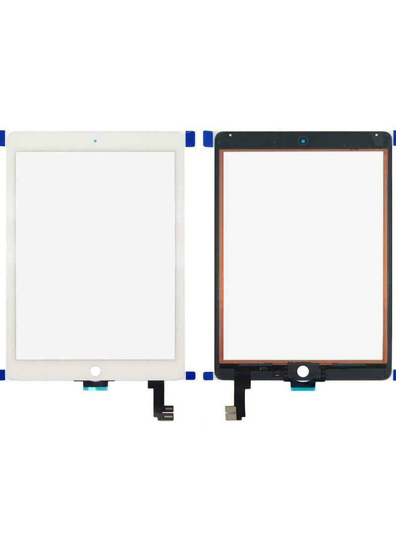 iPad Air 2 Glass Digitizer - White (GLASS SEPARATION REQUIRED)