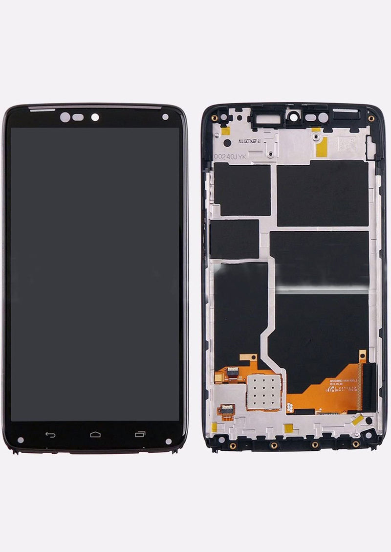 Motorola Droid Turbo XT1254 / XT1225 LCD Assembly w/Frame - Black