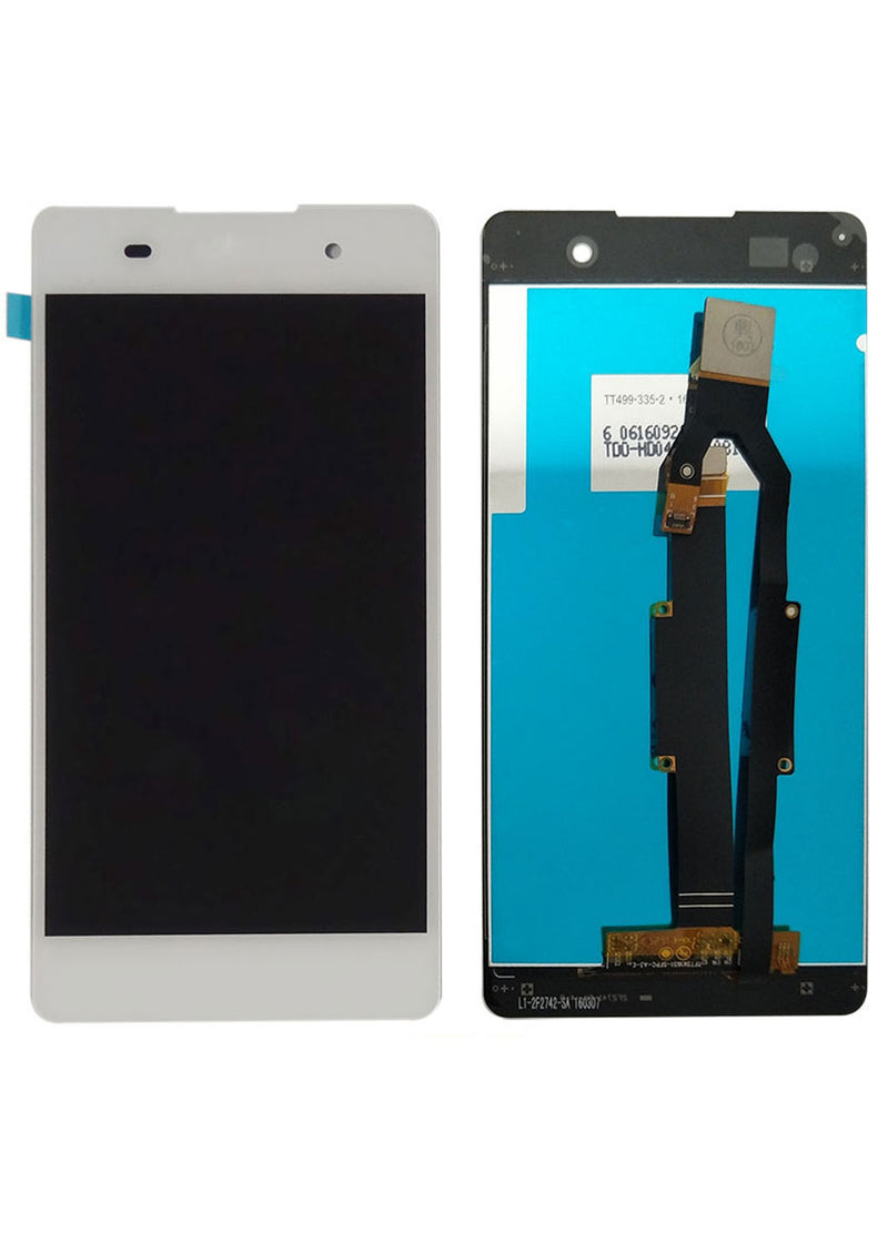 Sony Xperia E5 LCD Assembly NO FRAME - White