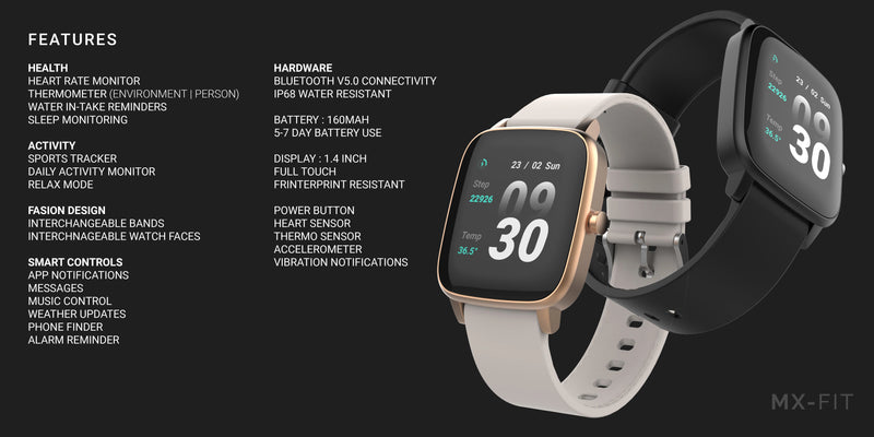 Maxwest MX-Fit Smart Watch