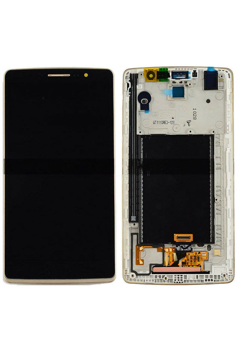 LG G Stylo LCD Assembly w/Frame - Gold