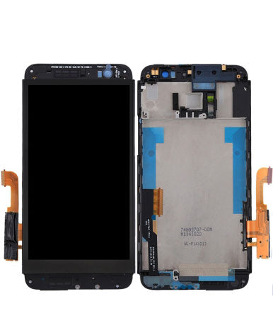 HTC One E8 LCD Assembly NO FRAME - Black