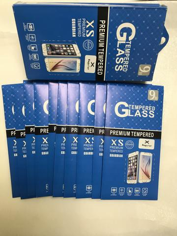 9H PREMIUM TEMPERED GLASS FOR ALL IPHONE MODELS (Pack of 10)