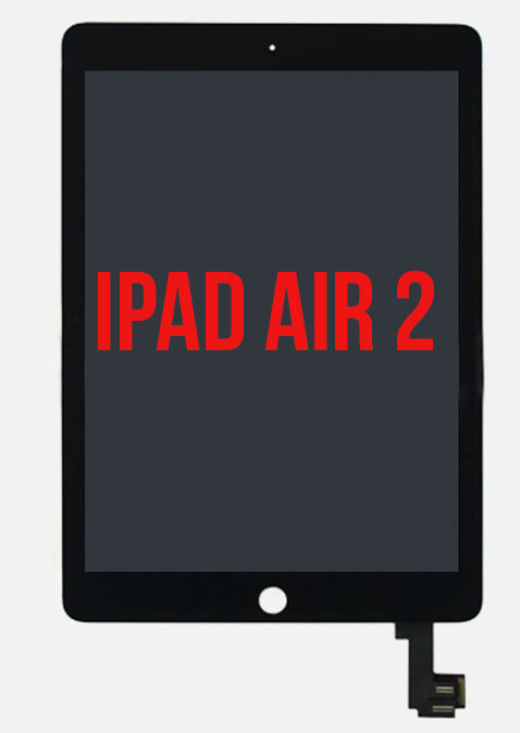 iPad Air 2 Full Assembly LCD Black - Premium Quality