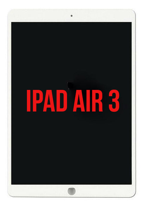 iPad Air 3 Full Assembly LCD White - Premium Quality