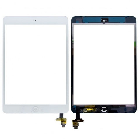 iPad Mini 1/2 Glass/Digitizer - White
